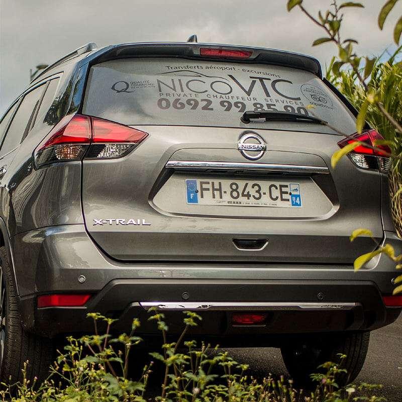 XTRAIL - Nico VTC Ile de la Réunion 974